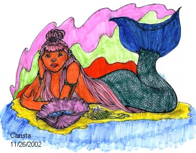 Mermaid by Christa