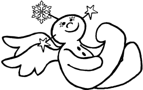 Snow Angel, a Picture Book Childrens Story and Wonderful Art