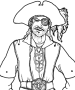 Sea Lyon Pirate Puppet