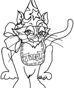 Fritter Coloring Page