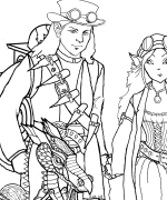 The VC Crew Coloring Page