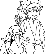 Wee Willy Coloring Page