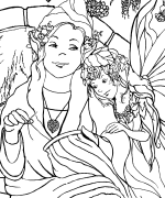Heart Maker Coloring Page