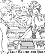 Heart Maker Stand Coloring Page